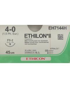 Ethicon Ethilon 4-0 blauw 45cm nld FS-2 EH7144H