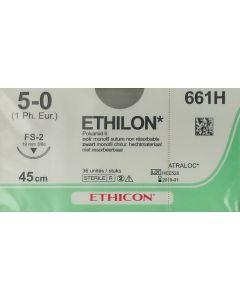 Ethicon Ethilon 5-0 zwart 45cm nld FS-2 661H