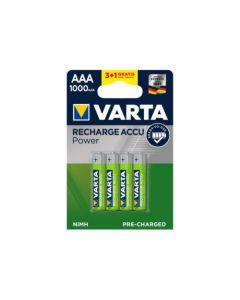 Varta oplaadbare AAA batterijen tbv WatchBP O3
