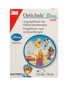 3M Opticlude standaard Disney Midi cars 50