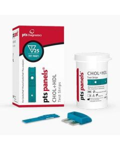 PTS Cholesterol + HDL strips    ref 1821