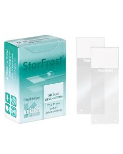 StarFrost Objectglaasjes met zelfklevend uiteinde
