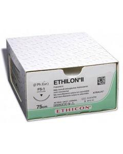 Ethicon Ethilon 4-0 zwart 45cm nld PS-2 EH7163H